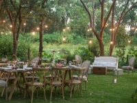 wedding timber trestle tables cocktail lounge_sm