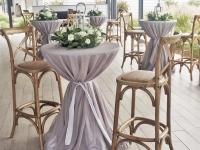 grey-linen-cocktail-bar-tables-port-stephens-anchorage