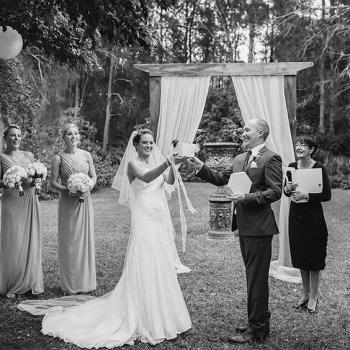 rustic wedding arbor circa 1876hunter valley