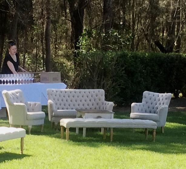 Petite 2 Seater Linen Sofa