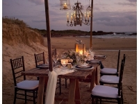 Intimate wedding dining on Birubi Beach Port Stephens