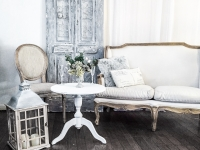 French provincial wedding lounge hire