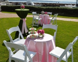 High Tea Garden Party Furniture Hire, Linen Hire & Styling