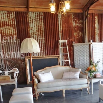 wedding furniture hire hunter valley