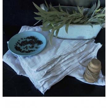 Natural Organic Wedding Linens