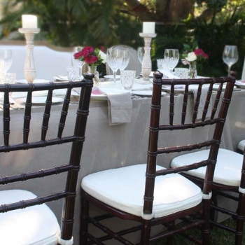 dark mahogany chiavari tiffany wedding chair hire Hunter Valley Newcastle