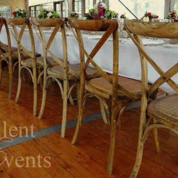 cross back timber chairs vinden estate hunter valley