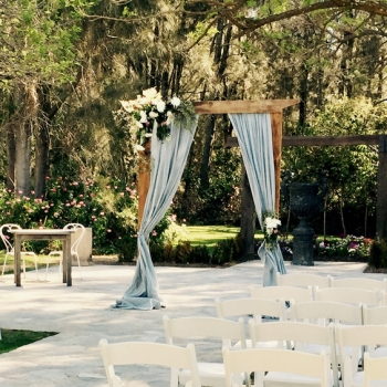 dusty blue wedding draping linens hire hunter