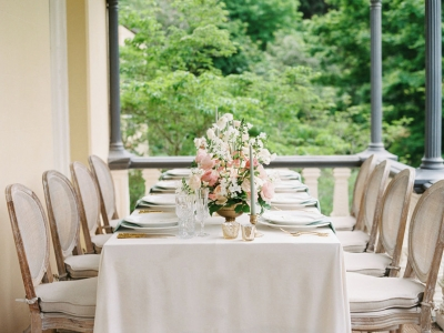 french wedding table styling hire