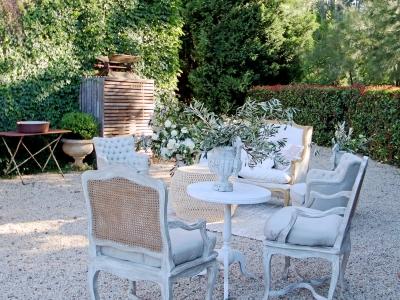 elegant garden furniture